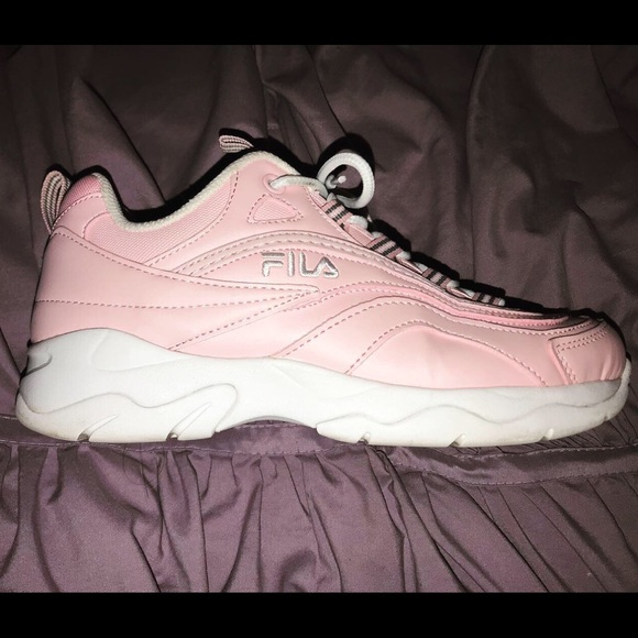 Fila Shoes   Baby Pink Fila   Poshmark